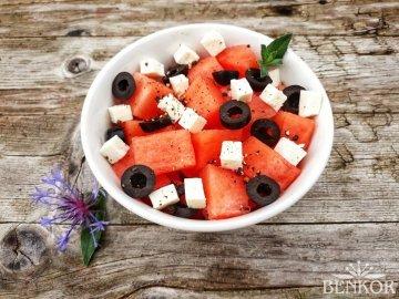 Salát z melounu s pepřem