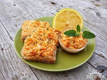 Celerovo-mrkvová pomazánka