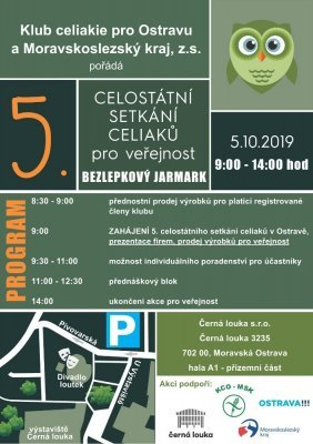 Bezlepkový jarmark, Ostrava, 5.10.2019